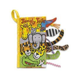 JELLY CAT JUNGLY TAILS CLOTH BOOK
