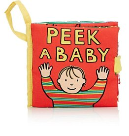 JELLY CAT MY PEEK A BABY BOOK/4