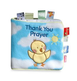 SCHOLASTIC THANK YOU PRAYER TAGGIES CLOTH BOOK WANTANABE