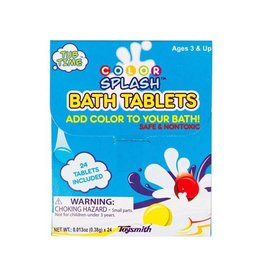 TOYSMITH COLOR SPLASH BATH TABLETS