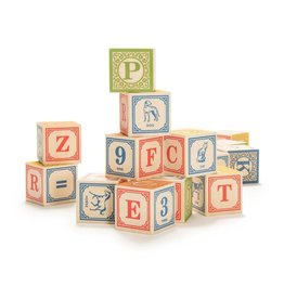 UNCLE GOOSE LINDENWOOD ABC BLOCKS - ENGLISH