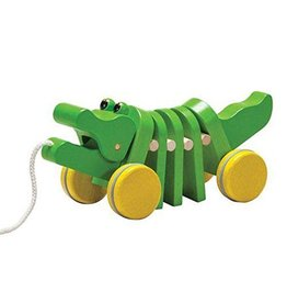 PLAN DANCING ALLIGATOR PULL TOY