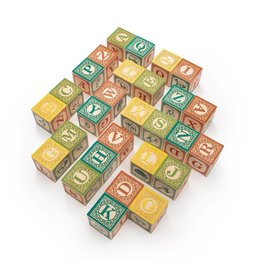 UNCLE GOOSE LINDENWOOD ABC BLOCKS - FOREIGN LANGUAGE