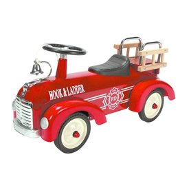 SCHYLLING ASSOCIATES FIRE TRUCK METAL SPEEDSTER