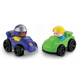 FISHER PRICE LITTLE PEOPLE WHEELIES CAR