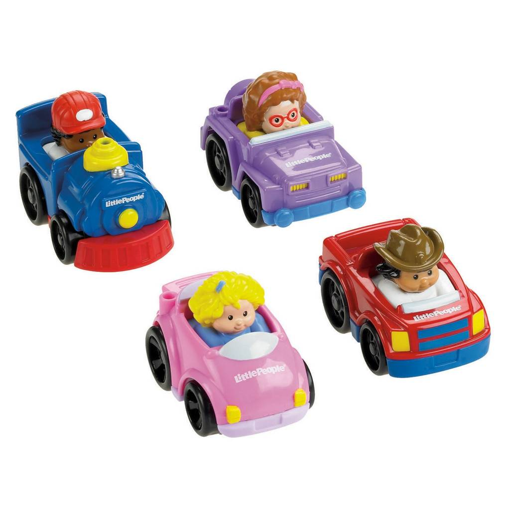 FISHER PRICE LITTLE PEOPLE WHEELIES CAR - THE TOY STORE