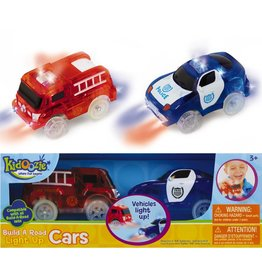 EPOCH EVERLASTING PLAY BUILD A ROAD LIGHT UP CARS