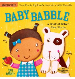 WORKMAN PUBLISHING BABY BABBLE INDESTRUCTIBLE