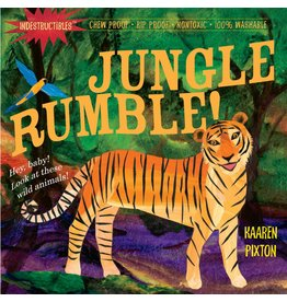 WORKMAN PUBLISHING JUNGLE RUMBLE! INDESTRUCTIBLES