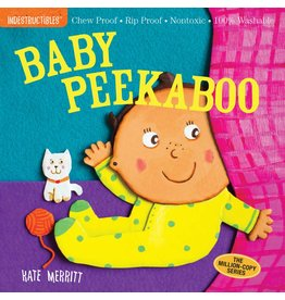 WORKMAN PUBLISHING BABY PEEKABOO INDESTRUCTIBLE