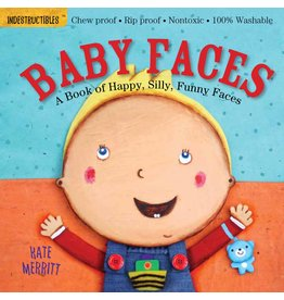 WORKMAN PUBLISHING BABY FACES INDESTRUCTIBLE