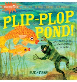 WORKMAN PUBLISHING PLIP PLOP POND INDESTRUCTIBLE