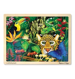 MELISSA AND DOUG RAIN FOREST 48 PC PUZZLE*