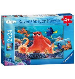 FINDING DORY 2 X 24 PC PUZZLE