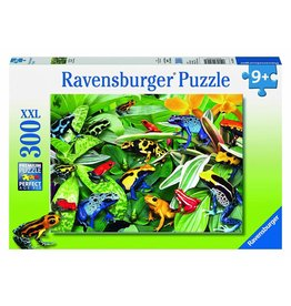 RAVENSBURGER USA FRIENDLY FROGS 300 PC PUZZLE*