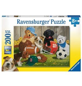 RAVENSBURGER USA LETS PLAY BALL 200 PC PUZZLE*