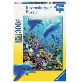RAVENSBURGER USA UNDERWATER ADVENTURE 300 PC PUZZLE