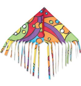 PREMIER KITE RAINBOW ORBIT DELTA FUN FLYER KITE