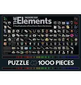 HACHETTE BOOK GROUP PERIODIC ELEMENTS 1000 PC PUZZLE