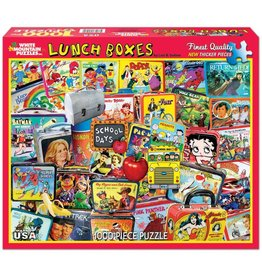 WHITE MOUNTAIN PUZZLE LUNCH BOXES 1000 PC PUZZLE*
