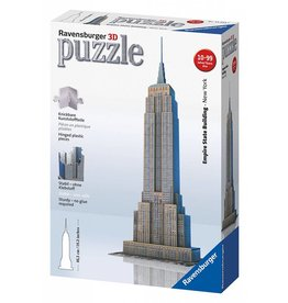 RAVENSBURGER USA EMPIRE STATE BUILDING 3-D PUZZLE