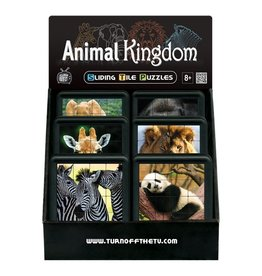 FAMILY GAMES AMERICA ANIMAL KINGDOM SLIDE PUZZLE**