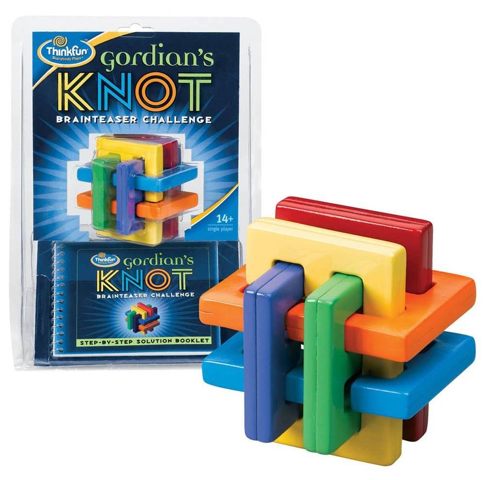THINK FUN GORDIANS KNOT PUZZLE
