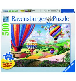 RAVENSBURGER USA BRILLIANT BALLOONS 500 PC PUZZLE