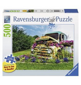 RAVENSBURGER USA FLOWER TRUCK 500 PC PUZZLE*