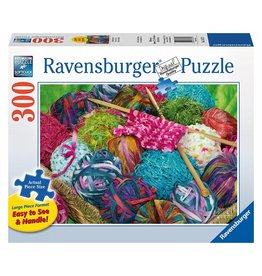 RAVENSBURGER USA KNITTING NOTIONS 300 PC PUZZLE*