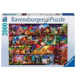RAVENSBURGER USA WORLD OF BOOKS 2000 PC PUZZLE