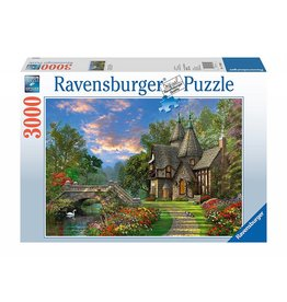 RAVENSBURGER USA TRANQUIL COUNTRYSIDE 3000 PC PUZZLE