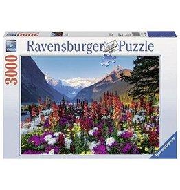 RAVENSBURGER USA FLOWERY MOUNTAINS 3000 PC PUZZLE