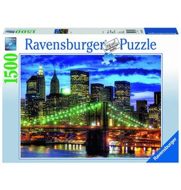 RAVENSBURGER USA SKYLINE NYC 1500 PC PUZZLE