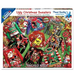 WHITE MOUNTAIN PUZZLE UGLY CHRISTMAS SWEATERS 1000 PC PUZZLE