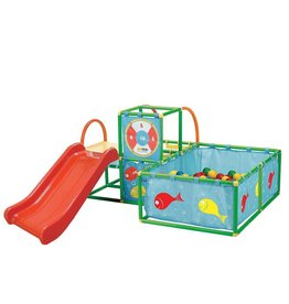 NATIONAL SPORTING GOODS ACTIVE PLAY 3 IN 1 GYM SET