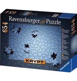 RAVENSBURGER USA KRYPT SILVER 654 PC PUZZLE*