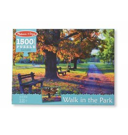 MELISSA AND DOUG WALK IN THE PARK 1500 PC PUZZLE