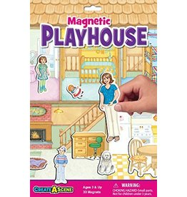 PLAYMONSTER CREATE A SCENE MAGNETIC PLAYHOUSE