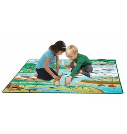 MELISSA AND DOUG JUMBO HABITAT RUG