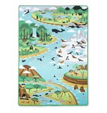 MELISSA AND DOUG JUMBO HABITAT RUG*