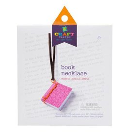 ANN WILLIAMS CRAFT-TASTIC BOOK NECKLACE