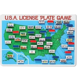 MELISSA AND DOUG USA LICENSE PLATE GAME