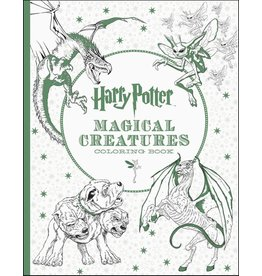 SCHOLASTIC HARRY POTTER CREATURES COLORING BOOK