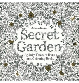 CHRONICLE PUBLISHING SECRET GARDEN COLORING BOOK PB BASFORD