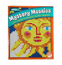 MINDWARE MYSTERY MOSAICS COLORING BOOK 1