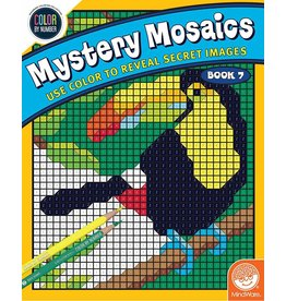 MINDWARE MYSTERY MOSAICS COLORING BOOK 7