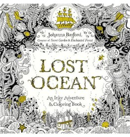 PENGUIN LOST OCEAN COLORING BOOK PB BASFORD