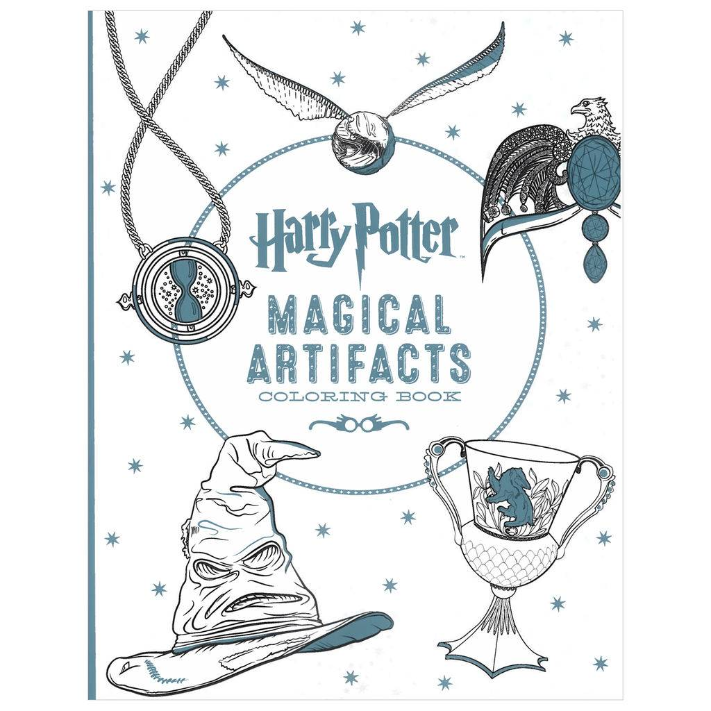 Scholastic Harry Potter Magical Artifacts Coloring Book The Toy Store