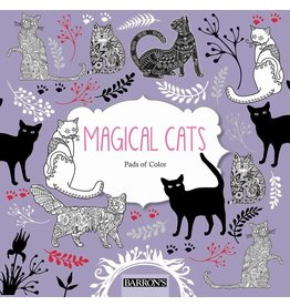 BARRONS MAGICAL CATS COLORING BOOK